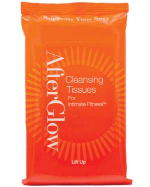 AfterGlow Cleansing Tissues (Pack of 20)