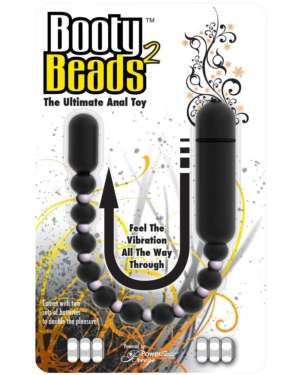 PowerBullet Booty Beads 2 Ultimate Vibrating Anal Beads