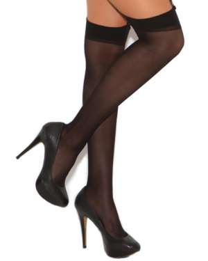 Elegant Moments Sheer Thigh Highs