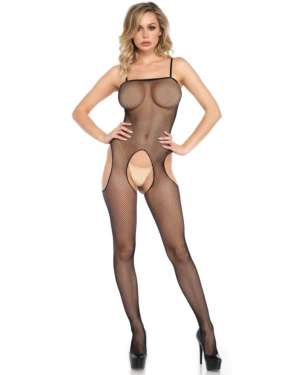 Leg Avenue Fishnet Suspender Bodystocking