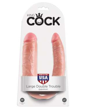 King Cock U-Shaped Large Double Trouble