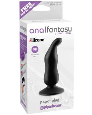 Pipedream Anal Fantasy Collection P Spot Silicone Anal Plug