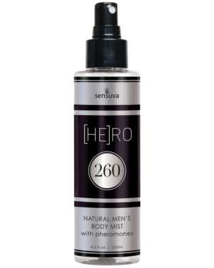 Sensuva Hero 260 Natural Body Mist for Men