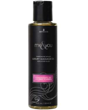 Sensuva Me and You Pheromone Infused Scented Massage Oil