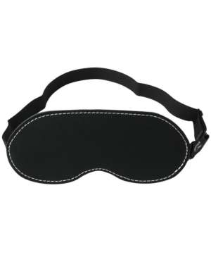 Sportsheets Edge Black Leather Blindfold