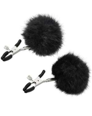 Sportsheets Sincerely Adjustable Faux-Fur Nipple Clips