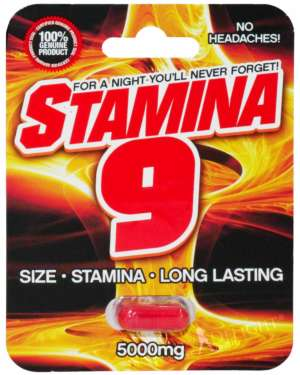 Stamina 9 5000 Male Sex Supplement