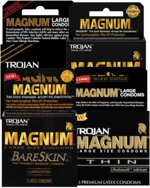 Trojan Magnum Condoms Variety Bundle of 12