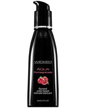 Wicked Aqua Flavored Water Based Lubricant