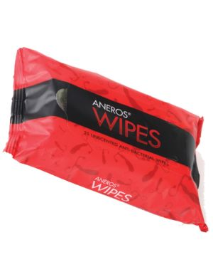 Aneros Anti-Bacterial Wipes (Pack of 25)