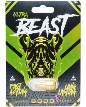 Ultra Beast 8000 Male Sex Supplement (Clearance)