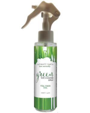 Intimate Earth Green Spray Tea Tree Oil Toy Cleaner