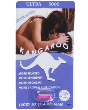 Kangaroo for Women Violet Ultra 3000 Sex Supplement