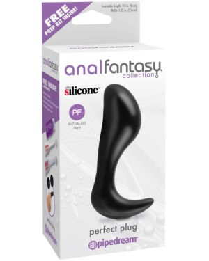 Pipedream Anal Fantasy Collection Vibrating Perfect Silicone Butt Plug
