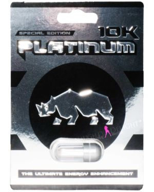 Platinum 10K Special Edition Male Enhancement Sex Supplement (Clearance)
