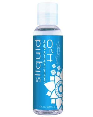 Sliquid Naturals H2O Water Based Lubricant
