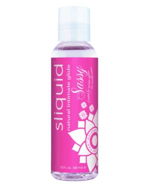 Sliquid Naturals Sassy Gel Water Based Lubricant