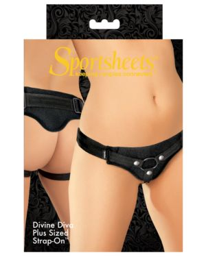 Sportsheets Divine Diva Plus Sized Strap-On Harness