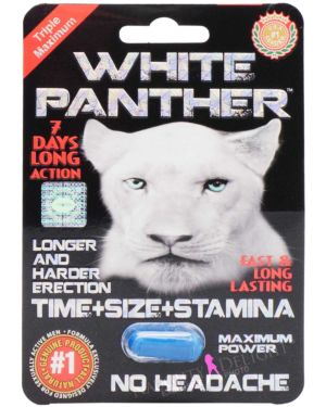 SX Power White Panther Male Sex Supplement (Clearance)