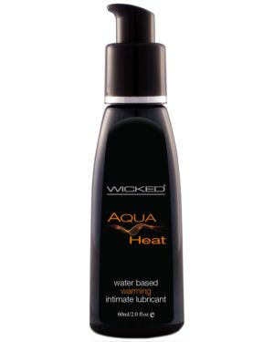 Wicked Aqua Heat Water Based Lubricant