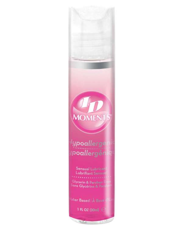 ID Moments Hypoallergenic Water Based Lubricant