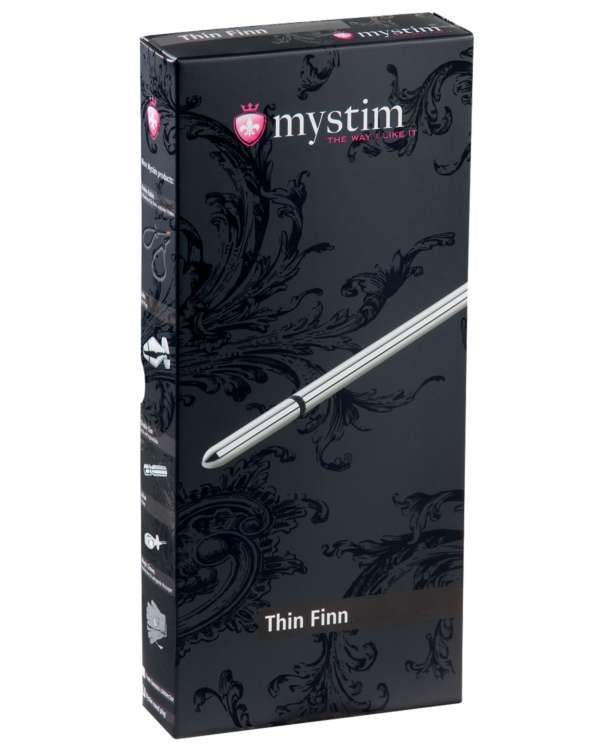 Mystim Thin Finn 8mm Urethral Sound