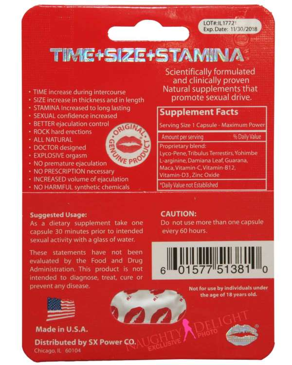 Red Mamba Male Enhancement Sex Supplement (Clearance)