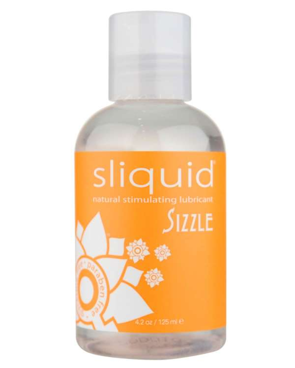 Sliquid Sizzle Warming Water Based Lubricant
