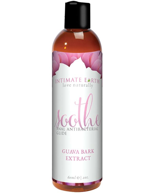 Intimate Earth Soothe Anal Anti-Bacterial Glide with Guava Bark Extract