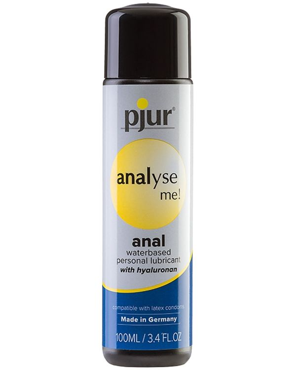 Pjur Analyse Me Anal Water Based Lubricant with Hyaluronan