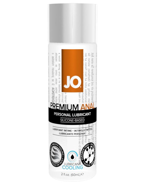 System JO Premium Silicone Anal Cooling Lubricant