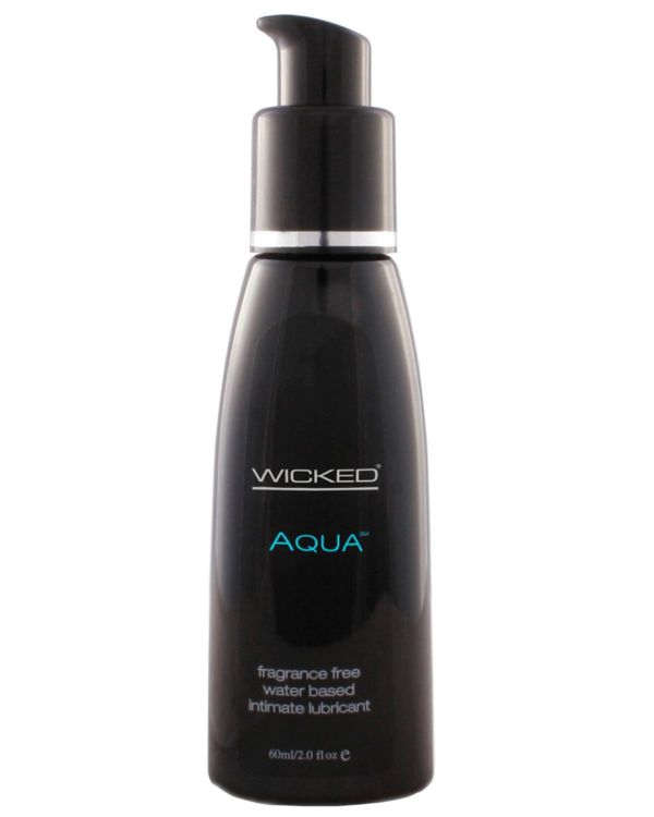 Wicked Aqua Fragrance Free Water Based Lubricant