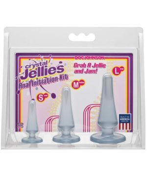 Doc Johnson Crystal Jellies Anal Initiation Kit