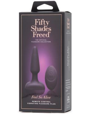 Fifty Shades Freed Feel So Alive Rechargeable Vibrating Pleasure Plug