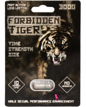 Forbidden Tiger 3000 Male Enhancement Sex Supplement (Clearance)