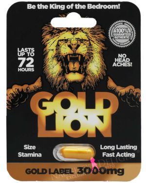 Gold Lion Gold Label 3000 Male Sex Supplement