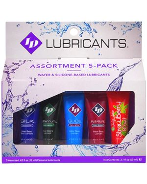 ID Lubricants Assortment Pack Sampler Bundle