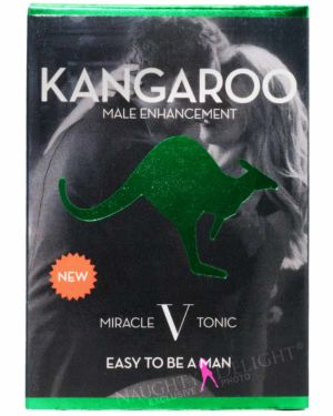 Kangaroo Miracle V Tonic Male Sex Supplement Box of 12 (Clearance)