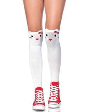 Leg Avenue Goodbye Kitty Knee High Socks