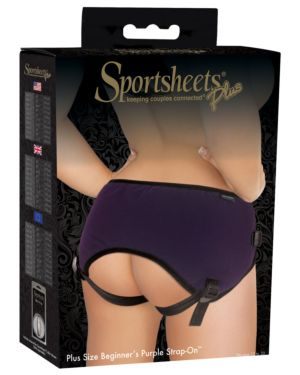 Sportsheets Plus Size Beginners Strap On Harness Style #51