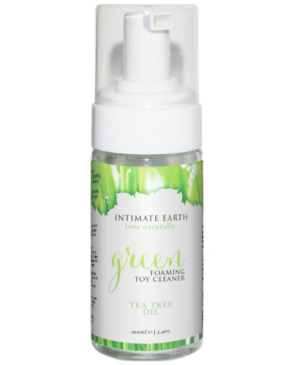 Intimate Earth Green Foaming Tea Tree Oil Toy Cleaner