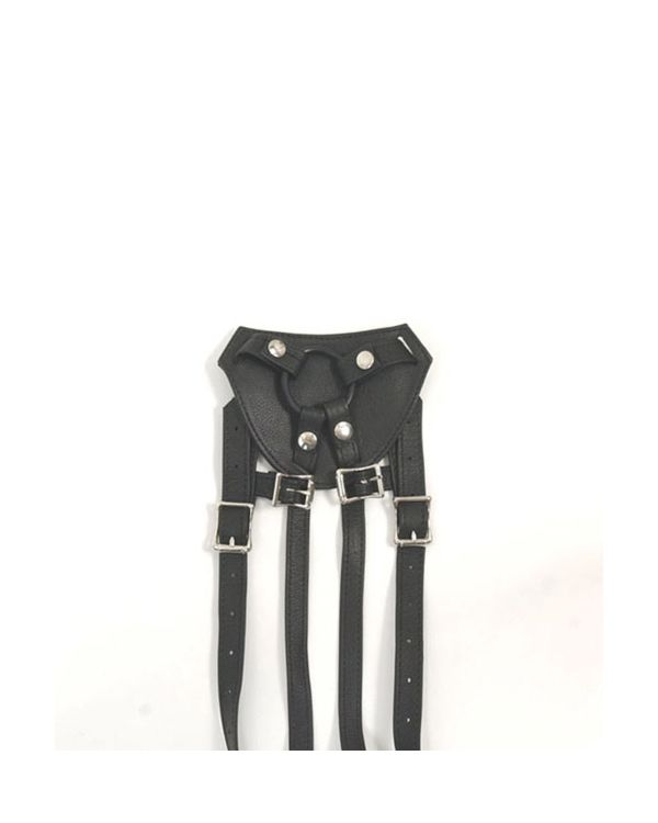 Stormy Leather Terra Firma Strap-On Harness with Buckles