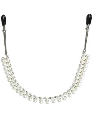 Sportsheets Sincerely Pearl Chain Nipple Clips